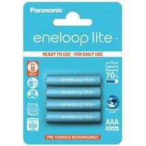 Аккумулятор Panasonic Eneloop Lite BK-4LCCE/4BE, AAA/(HR03), 550mAh, LSD Ni-MH, блистер 4шт