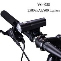Велосипедный фонарь ROCKBROS V6  - 800