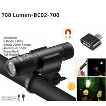 Велосипедный фонарь ROCKBROS BC02 - 700LM
