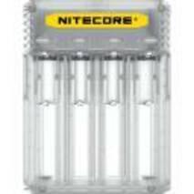 Універсальне зарядне облаштування Nitecore Q4 прозоре  Li - Ion/IMR 2a max 220V/12V LED