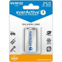 Аккумулятор everActive EVHRL22-250, 6LR61 (крона), 8.4V, 250 mAh, LSD Ni-MH