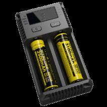 Зарядное устройство Nitecore i2 NEW Ni-Cd/Ni-Mh/Li-Ion/LiFePO4 (3.6-4.35V) 220V/12V  LED