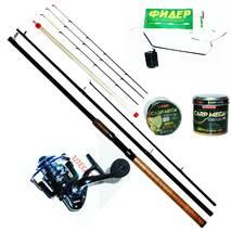 Фидерный спиннинг набор Bratfishing TAIPAN FEEDER 3.6 м. / 80-180 g