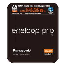 Аккумулятор Panasonic Eneloop Pro BK-3HCDE/4LE, AA/(HR6), 2500mAh, LSD Ni-MH, Sliding Pack 4шт
