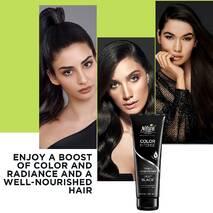 Тонирующий шампунь для волос Насыщенный черный Natural Formula Toning Shampoo Deep Black 250 мл.