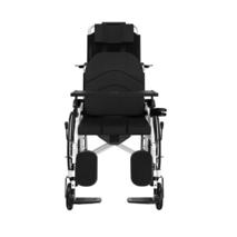 Ручная складная коляска для инвалидов с туалетом MIRID S119. Многофункциональное инвалидное кресло.