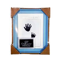 Рамка для чернильных отпечатков голубая (универсальная), 15х21 см