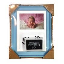 Рамка для чернильных отпечатков + фото голубая (Универсальная) 15х21