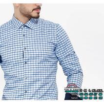 Рубашка длинный рукав утепленная S, M, L, XL