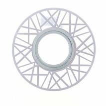 Feron Світильник СD 991 білий - матовий  MR-16 з Led підсвічуванням