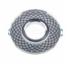 Feron Світильник СD 833 прозорий-срібло  MR-16 з Led підсвічуванням