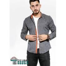 Рубашка длинный рукав утепленная S, M