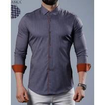 Рубашка длинный рукав с принтом S, M