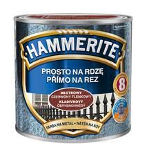 Фарба по іржі Hammerite молоткова цегляна 0,7л.