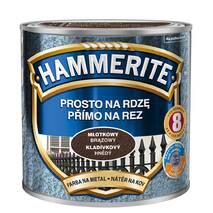 Краска Hammerite от коррозии молотковая коричневая 0,7л. Акция!