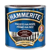 Фарба Hammerite глянцева темно-коричнева 0,7л.