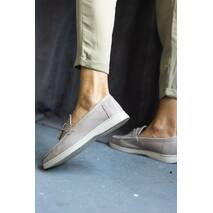 Женские лоферы кожаные весна/осень бежевые Multi-shoes Nino