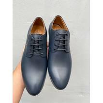 Мужские туфли кожаные весна/осень синие Stas 335-24-67