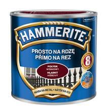 Hammerite фарба по металу глянсова вишнева 2,5 л.