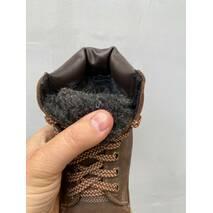 Підліткові черевики шкіряні зимові коричневі Brand Тонни