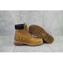 Підліткові черевики шкіряні зимові руді Brand 205
