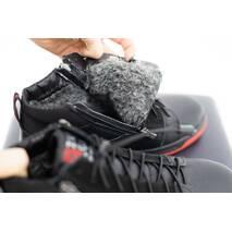 Підліткові черевики шкіряні зимові чорно-червоні Zangak 186 чф кр