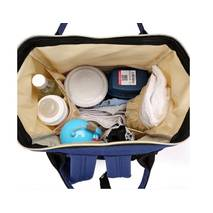 Сумка-рюкзак для мам MOTHER BAG el - 1230 СІРА