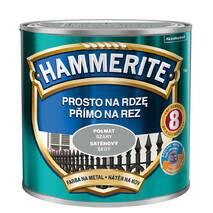 Фарба Hammerite напівматова сіра 2,5 л.