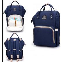 Сумка-рюкзак для мам MOTHER BAG el - 1230 СИНЯ