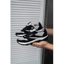 Подростковые кроссовки текстильные летние серые-черные Emirro 21-42 сетка