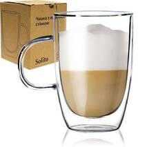 Чашка с двойной стенкой СНТИ  Солито 400 мл (61-50)