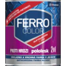 "Фарба Chemolak ""Ferro Color"" напівглянсова чорна 2,5л. (RAL 9005)"