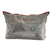 Подушка Le Vele Velvet Ekru велюр нанофайбер 50-70 см кремова