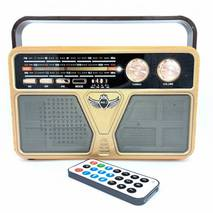 Радіоприймач Bluetooth акумуляторний з пультом Kemai MD - 507 BT