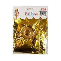 Композиция из 9 шаров золото, сердце (набор)