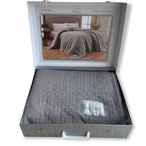 Плед Maison Dor My Favorite Grey бавовна 220-240 см сірий
