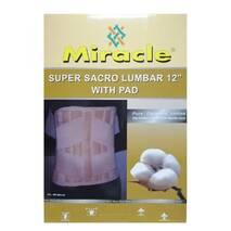 Бандаж для спини з 6-у ребрами жорсткості для підтримки спини високий Miracle код SSL - WP0011 - 12