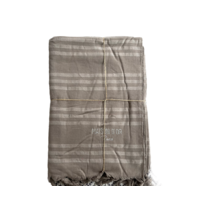 Пляжний рушник Maison Dor Violetta Beige бавовна 100-200 см бежеве