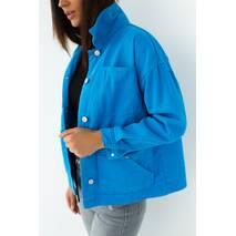 Crep Джинсова куртка з кишенями - синій колір, 34р