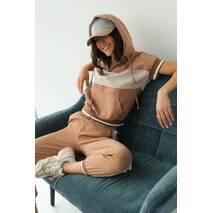 PERRY Спортивний костюм жіночий літній  - кавовий колір, M