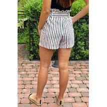 PERRY Шорти жіночі класичні з поясом - гірчичний колір, M