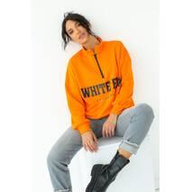 Enjoy Carnavale Женский свитшот с принтом в спортивном стиле - оранжевый цвет, M