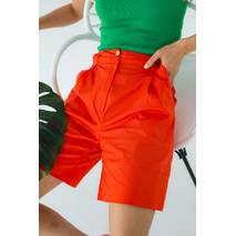 LUREX Жіночі шорты-бермуды - помаранчевий колір, M