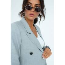 D-K Basic Пиджак классический на подкладке - серый цвет, S