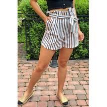 PERRY Шорти жіночі класичні з поясом - гірчичний колір, L