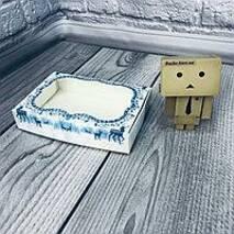Коробка з віконцем 10*15*3 мм кольорова 10шт