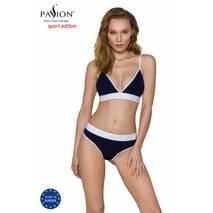 Спортивные трусики-стринги Passion PS007 PANTIES navy blue, size L