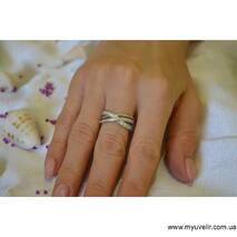 Женское Кольцо Серебряное