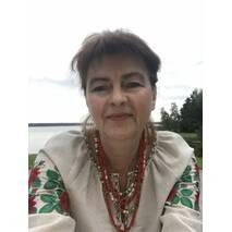 Жіноча вишита сорочка на сірому льоні з трояндами. ручна робота