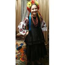 украинская вышитая рубашка женская ручной работы